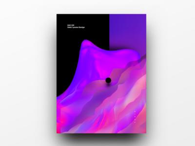 Poster Design Day 31 dailyposter dailyposterdesign graphic inpiration baugasm gradient abstract design poster
