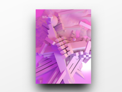 Poster Design Day 37 dailyposter dailyposterdesign graphic inpiration baugasm gradient abstract design poster
