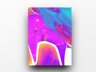 Poster Design Day 45 dailyposter dailyposterdesign graphic inpiration baugasm gradient abstract design poster