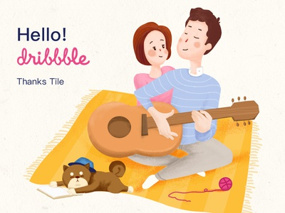 Hello! Dribbble static years dribbble cute first