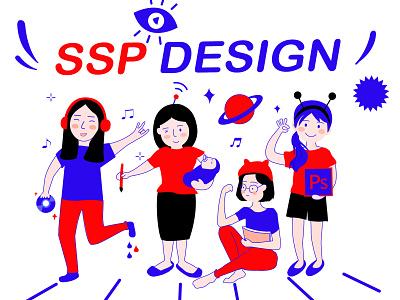 Team Members character style hobby design team