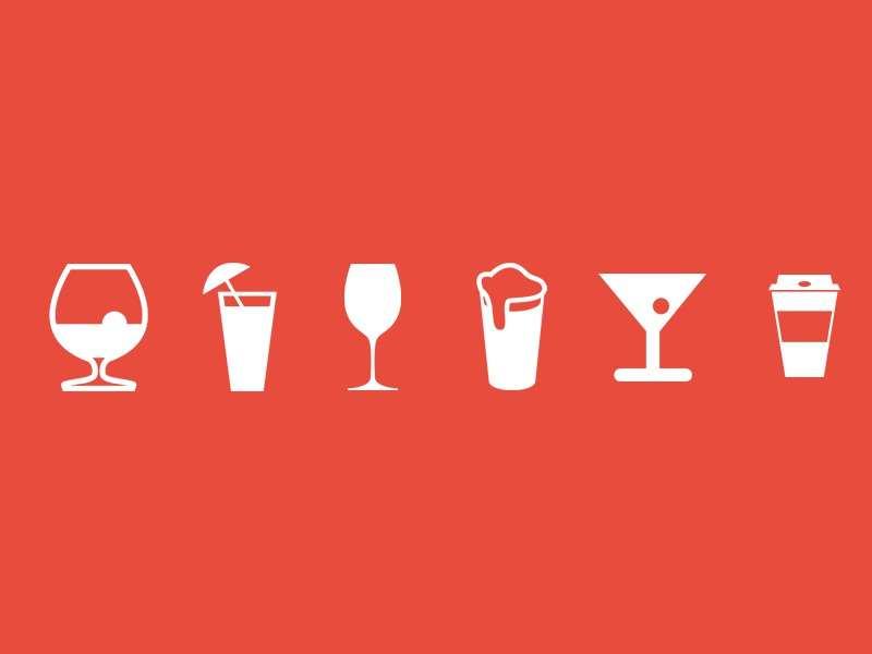 It's FRIDAY :) drinks icons free psd drinks friday icons bar icons download friday bar icons free freebie free icons