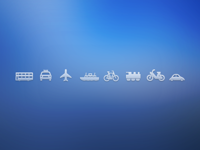 Transport Icons transport icons free download psd illustration vector car bus plane motorbike transport icons free icons icon download freebie