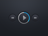 Video Player Buttons