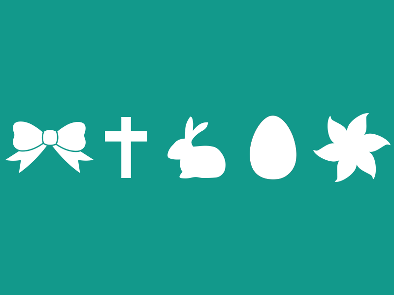 Easter Icons bow icon rabbit icon flower icon easter freebie free icons easter icons psd free download free icons cross icon download easter egg egg icon easter bunny