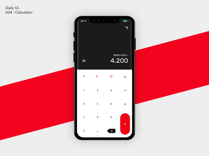 Daily UI - Calculator