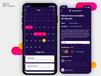 Daily UI - Calendar
