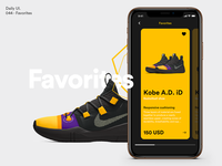 Daily UI - Favorites