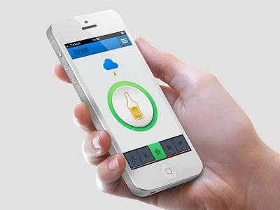 Efes Beer Application app efes beer design icon application iphone ios menu ui ux web button up