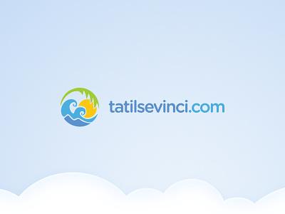 Holiday Logo logo graphic holiday travel sun summer design