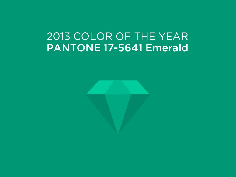 Pantone Emerald logo color green emerald icon pantone design