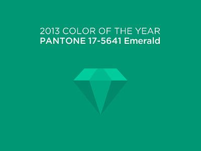 Pantone Emerald logo color green emerald icon pantone design