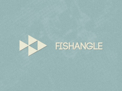 Fishangle logo fish angle logo