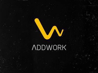 Addwork logo work design