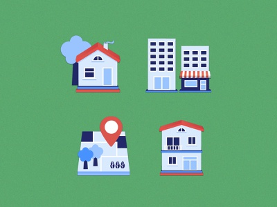 Real Estate Icons real estate icons illustrator residential family house commercial building land illustration vector icons building house real estate