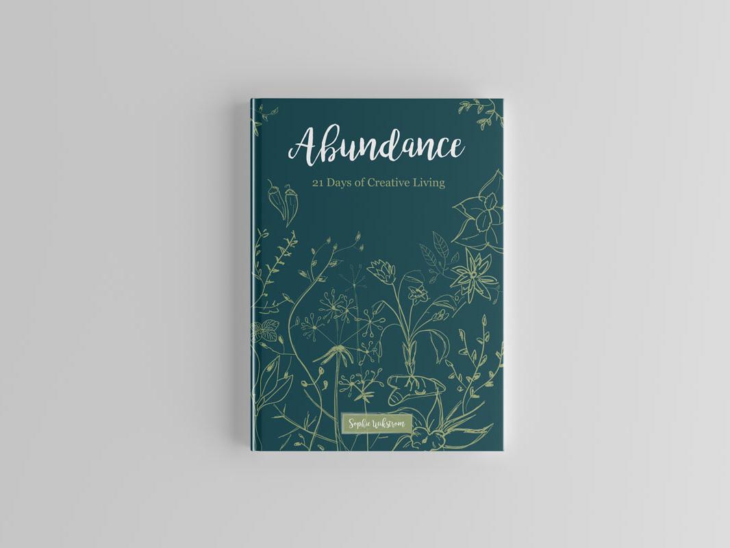 Abundance Book Cover illustration book cover