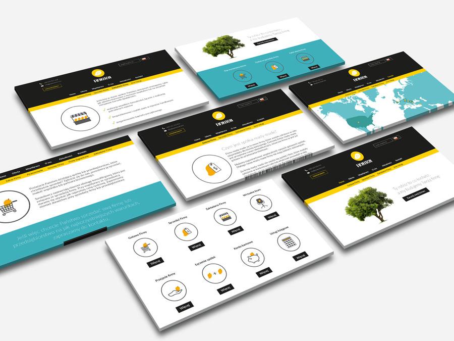 Firmiton Website Screens mango webdesign website