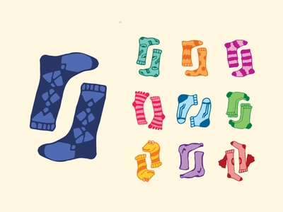 Sock Illustrations