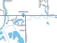 Brookhaven Wesleyan Church Map