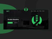 StudioGenetics | SGen Landing Page
