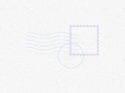 Ed Markey Stamp Loop logo motion graphics animation adobe character illustration vector illustrator graphic design design