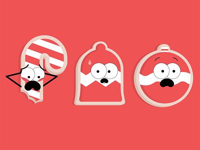 Cookies branding motion graphics animation adobe illustration vector illustrator graphic design design character holidays cookies