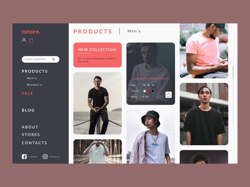 Minimal shop concept