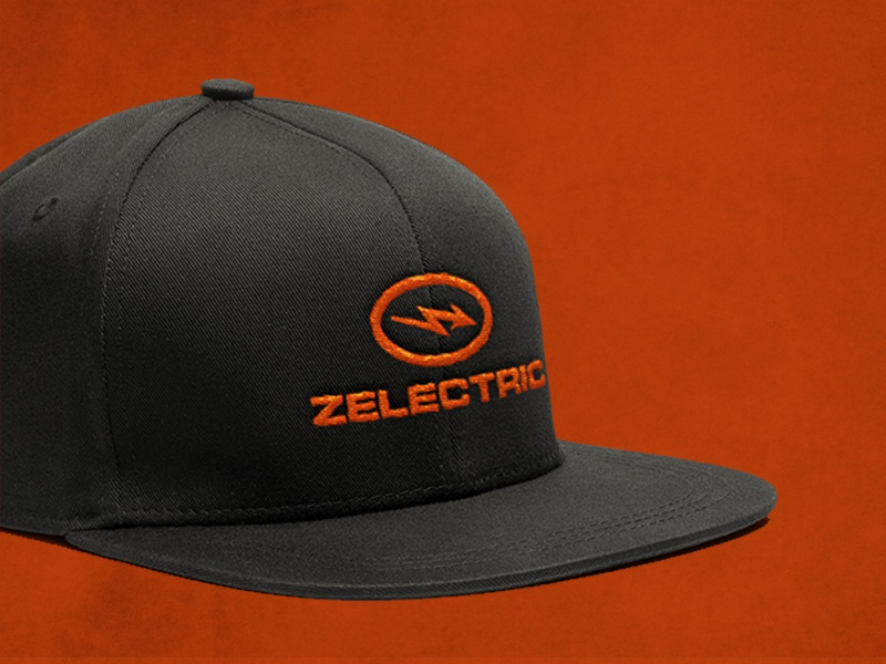 Zelectric Apparel Cap motorsport the verge electric vehicle ev future elon musk elonmusk electric dots design car ai