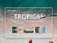 Tropical vacation agency