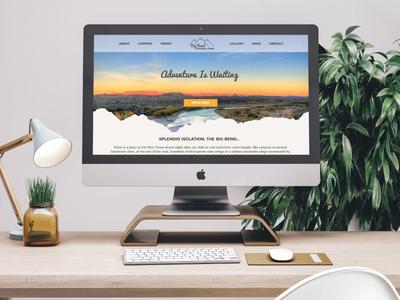 Big Bend National Park Website Redesign