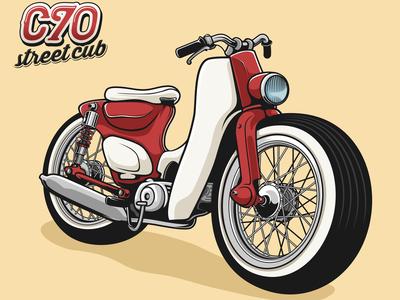 Streetcub Red Classic