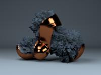 Copper popcorn