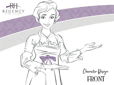 Character Design: Front Girl