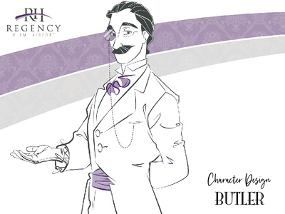 Character Design: The welcome of Butler