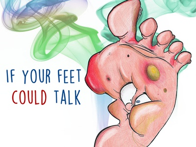 If your feet could talk (2°)