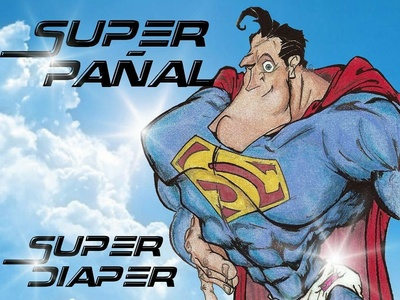 It's a bird, it's a plane, do you have diapers? It's Superman