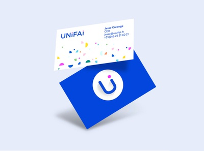 UNiFAi webpage web logo data identity branding branding ui typography webdesign design
