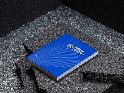 glocal architecture book uvvarnish pantone blue glocal architecture yearbook editorial bookcover book