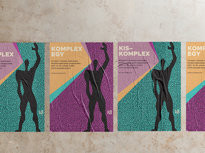 komplex posters budapest bme project course university modern modulor architecture advertisment ads poster