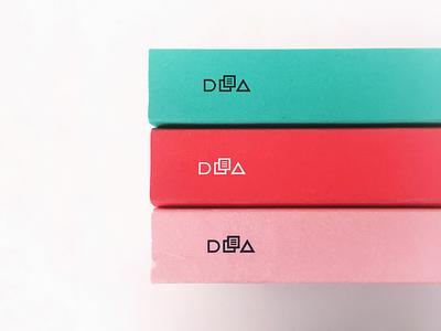 DLA books graphic design branding dla series soft cover cover editorials book
