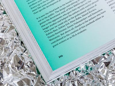 dla yearbook 2018 gradient yearbook graphic design book editorial