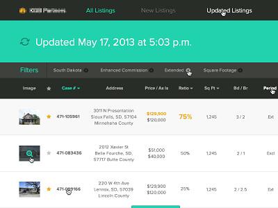 Dashboard proxima nova dashboard ui minimal navigation list menu interface simple flat