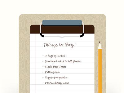 Itinerary  itinerary clipboard script handwriting wood