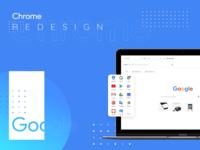 Google Chrome Redesign UI
