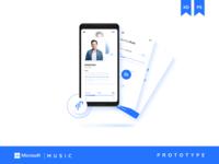 Microsoft Music | Prototype