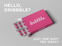 Hello, Dribble? Just one shot per week?
