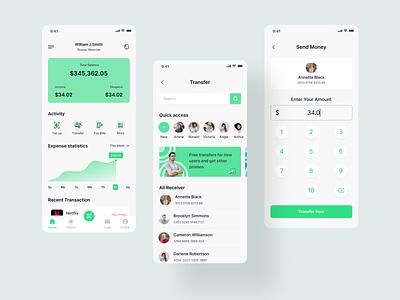 Finance App saas b2b app design application bussines desig finance app app ios android mobile ux ui