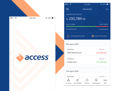 Access Bank Design Concept bank