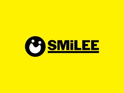 SMiLEE logo typography minimal branding design