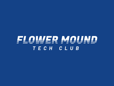 Flower Mound Tech Club branding